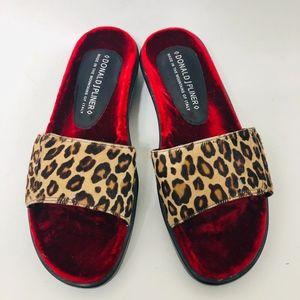 Donald J Pliner Shoes Frutta Slip On Slides Sandal